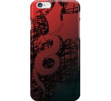 Draconic Sketch iPhone Case/Skin
