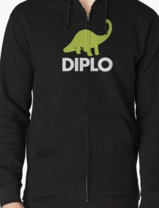 Dinosaur  - Diplo - Green & White T-Shirt