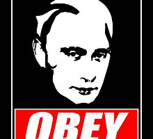 OBEY PUTIN by Robin Brown