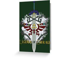 Legends of Courage  Greeting Card