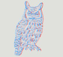 3D OWL Unisex T-Shirt
