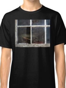 On The Dark Side Of The Window Classic T-Shirt