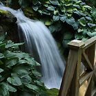 Waterfall, Minter Gardens, BC by cielleigh