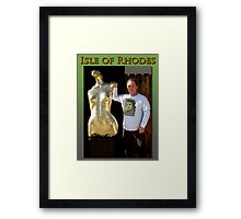 Isle of Rhodes & I Framed Print
