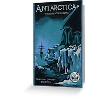 Antarctic Expedition Greeting Card