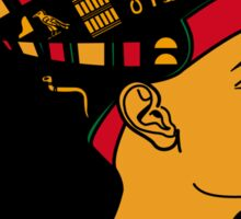 Queen Nefertiti RBG Design Sticker