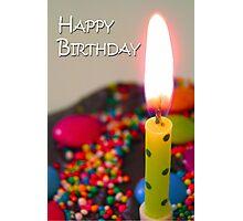 Make a wish Photographic Print
