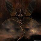 Angel of Death 001 by Karl David Hill