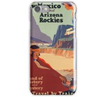 Vintage poster - New Mexico iPhone Case/Skin