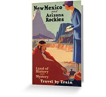 Vintage poster - New Mexico Greeting Card