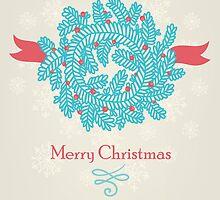 Christmas greeting card by veverka