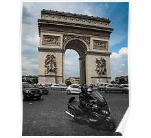 Place du Charles de Gaulle Poster