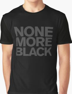 Spinal Tap - None more Black Graphic T-Shirt