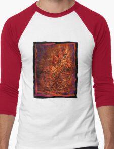 flame tree Men's Baseball ¾ T-Shirt