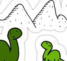 The Saddest Doodle 'Colour'  Sticker