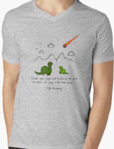 The Saddest Doodle 'Colour'  Mens V-Neck T-Shirt
