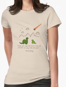 The Saddest Doodle 'Colour'  Womens Fitted T-Shirt