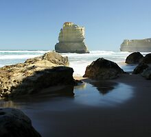 Gibson's Beach - Great Ocean Road VIC by Emmy Silvius