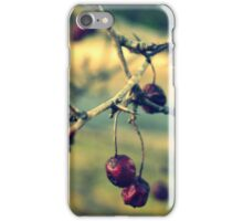 Thorny Berries iPhone Case/Skin