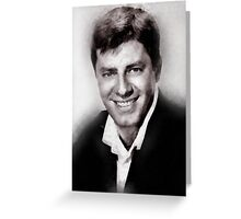 Jerry Lewis by John Springfield Greeting Card