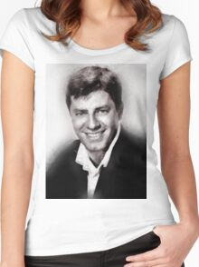 Jerry Lewis by John Springfield Women's Fitted Scoop T-Shirt