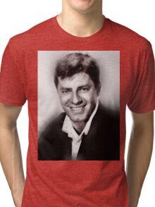 Jerry Lewis by John Springfield Tri-blend T-Shirt