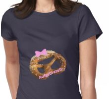 Aufgebrezelt v2 Womens Fitted T-Shirt