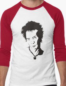 Syd Vicious of the Sex Pistols  Men's Baseball ¾ T-Shirt