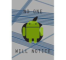 I am Android Photographic Print