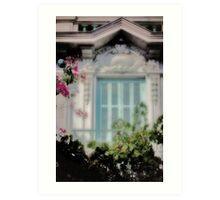 Juliet's Balcony Art Print