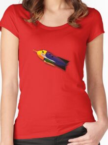 """R"" is for Rocket Women's Fitted Scoop T-Shirt"