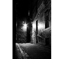 Dark Alley Photographic Print