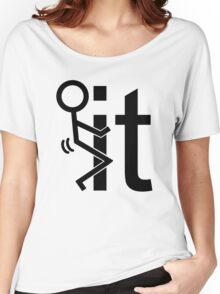 Adult Humor Stick Figure Women's Relaxed Fit T-Shirt