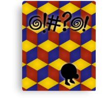 Q-Bert: The Movie Canvas Print