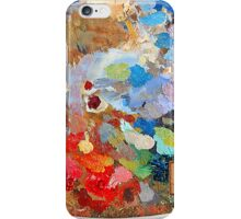 Artist's palette iPhone Case/Skin