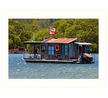 Post Office on Water Art Print