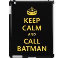 Keep calm and call Batman iPad Case/Skin