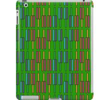 Tuning forks (Green) iPad Case/Skin