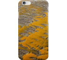 Yellow Patterns in the Sand iPhone Case/Skin