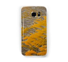 Yellow Patterns in the Sand Samsung Galaxy Case/Skin