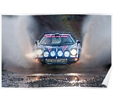 Steve Perez, RAC Rally 2011 Poster