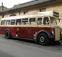 1930's Leyland Single Decker Bus by Edward Denyer