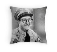 Phil Silvers by John Springfield Throw Pillow
