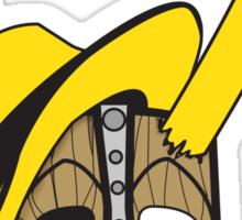 Mischief Mask Sticker