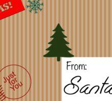 Elf Mail Sticker