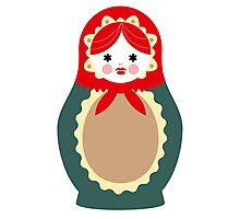 Matrioshka (v4) 001 Photographic Print