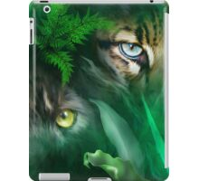 Jungle Eyes - Panther & Ocelot iPad Case/Skin