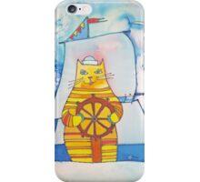 Mariner Cat iPhone Case/Skin