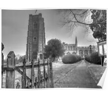 Church of England in Lavenham, Suffolk Poster