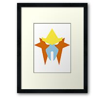 Pokemon Faces - Entei Framed Print